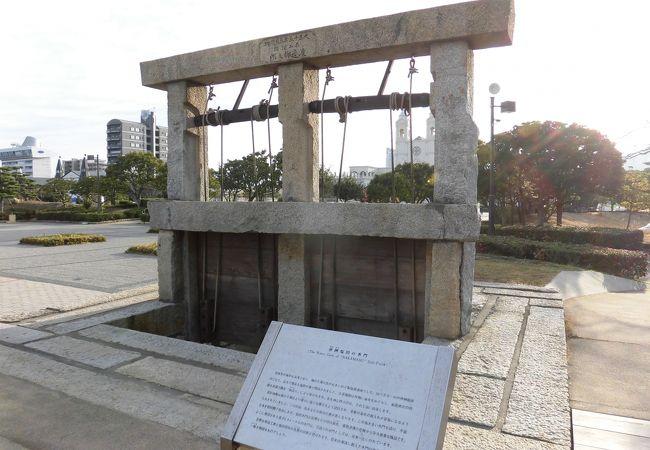 臨海公園の一角