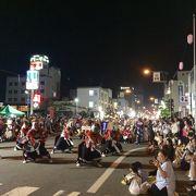鬼剣舞のパレードは圧巻です。