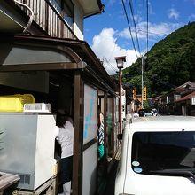 洞川で人気の豆腐屋さん