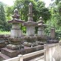 写真:武田勝頼の墓