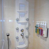 充実のシャワー