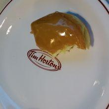 食べる前に写真を撮るのを忘れました