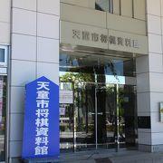 天童駅建物1階
