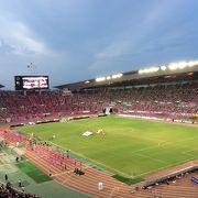 C大阪のホームスタジアムの1つ。