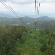 旭岳登山の基地