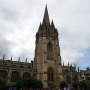 塔からオックスフォードを眺望