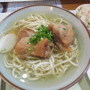あっさりスープの美味しい沖縄そば