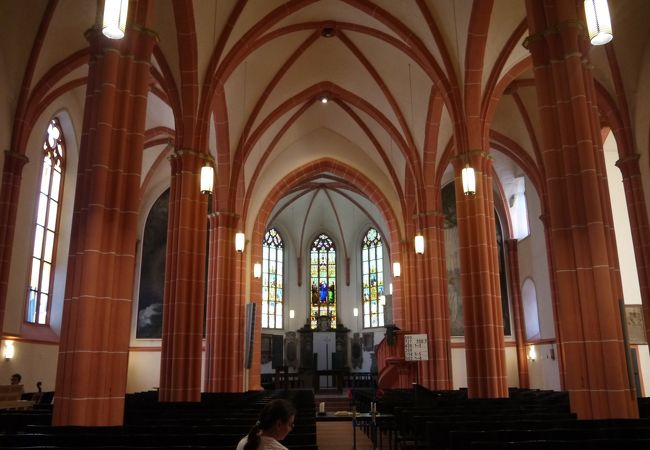 ハイデルベルクで一番古い教会