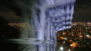 ロープウェイから臨む札幌の夜景