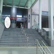 地鉄の駅ビル