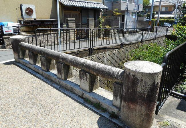 見過ごしそうな小さい橋