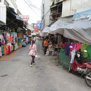 地元の人のための生活市場