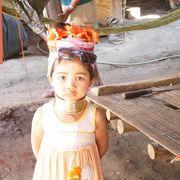 首長族の村をゆったり訪れました