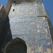 ティムールの宮殿跡