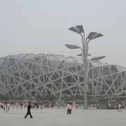 北京オリンピックのメインスタジアム