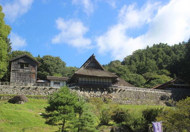 昔の遠野の家