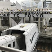 整備が追いついていない客船ターミナル