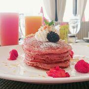 憧れのピンクパンケーキ