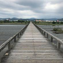 世界一の木造橋!