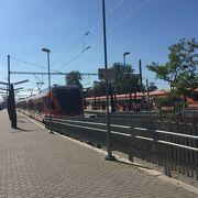タリンの駅