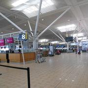 コンパクトでわかりやすい空港♪