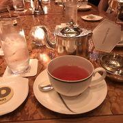 ペニンシュラホテル内のカフェ