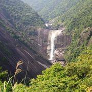屋久島を代表する滝のひとつです