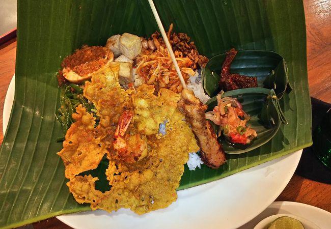 インドネシア料理の店