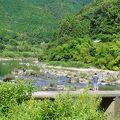 写真:上宮沈下橋