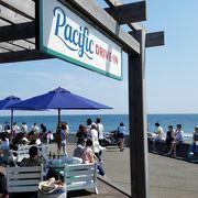 七里ヶ浜海岸に近いカフェ