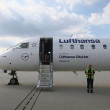 ライプチヒ空港から出発するルフトハンザ便
