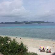 阿嘉島のメインビーチ