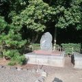 写真:千葉県護国神社 御遷座碑