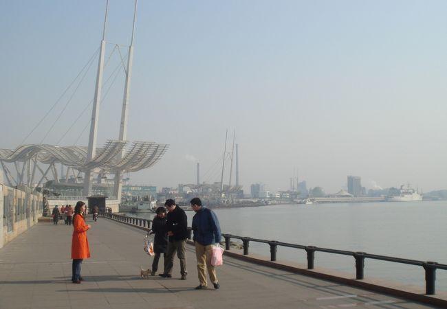 天津で海を感じる公園