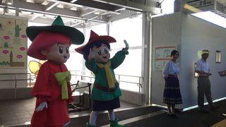 2017年7月に東武ワールドスクエア駅が開業しました!SL「太樹」号も停車します!