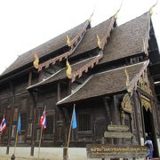ワット パンタオ かつての王朝が築いたランナー寺院