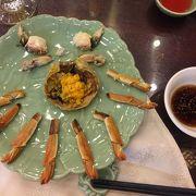 蟹を食べるならここでしょう
