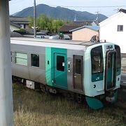 2両編成で運転される列車もあります