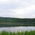 湖畔の高原キャンプ場