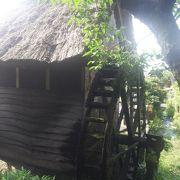 静かな農村の観光地