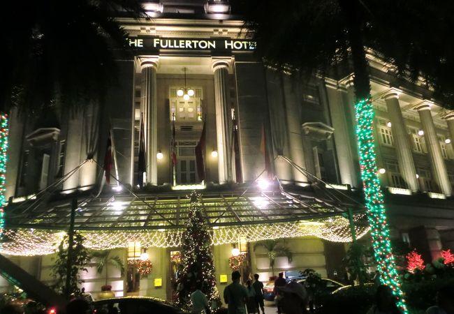 歴史的なフラトンホテルの展示室