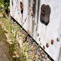 写真:窯垣の小径