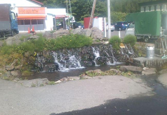 地元の方に愛されている湧き水です