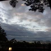 日本の夕陽100選に選ばれているビーチ