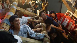 小木袖キリコ祭り