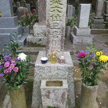 三吉慎蔵の墓