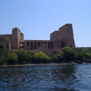 イシス女神に捧げられた神殿で、古代エジプトの信仰が最後まで続いた神殿だったそうです。