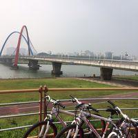 エキスポ橋までサイクリング