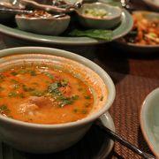 トムヤンクンが美味しい雰囲気あるレストラン