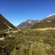 Tracks in Aoraki Mount Cook National Park